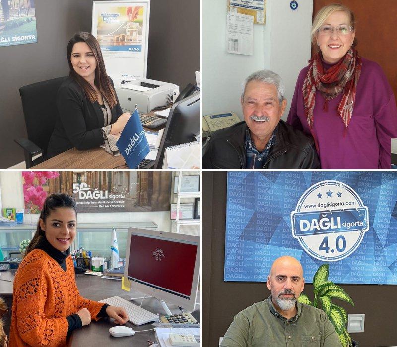 DAĞLI Insurance awards its agents!