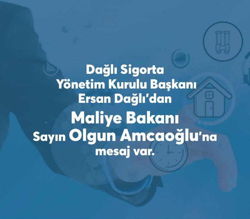 A Message to Minister of Finance, Mr. Olgun Amcaoğlu via Social Media